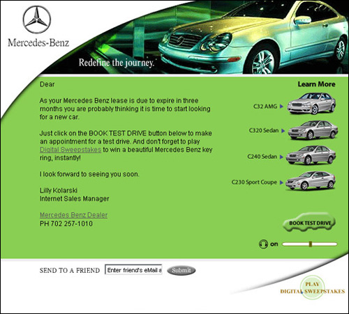 e newsletter mercedes benz